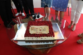 The 15th anniversary cake for the MPC @WSW