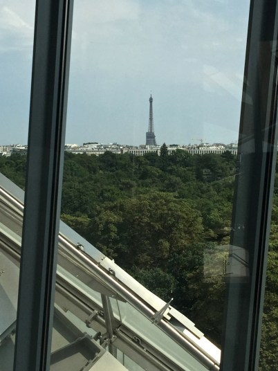 View of the Eiffel Tower from FLV @CelinaLafuenteDeLavotha2015