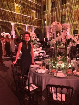Celina at the Piaget table