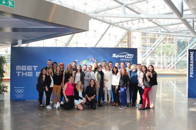 Amparo di Fede and her team at SportelMonaco 2015 @Sportel Photos