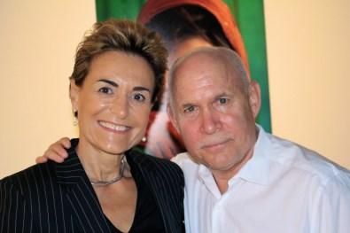 Celina and Steve McCurry
