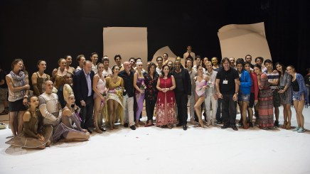 The company of The Monte-Carlo Ballet with HRH Princess Caroline and Jean-Christophe Maillot@Alice Blangero