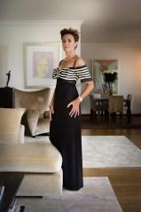 Wearing a long dress by Elizabeth Wessel @Amedeo Turello