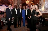 Philip Plein and guests at the Christmas Ball @laurentcia