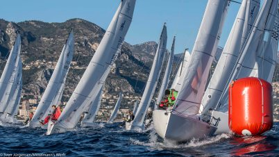 J70's sailing in the wind@Sven Jurgensen Mittelmann