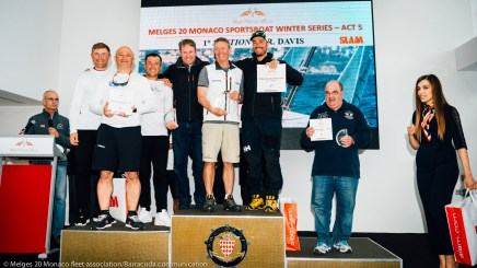 Melges 20 podium of winners @Marina Semanova