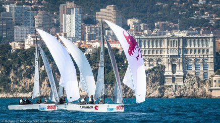 Melges 20s Monaco Fleet Association@Marina Semenova