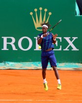 Gael Monfils played great but lost to Nadal in the Finals of the Monte-Carlo Rolex Masters 2016 @CelinaLafuenteDeLavotha