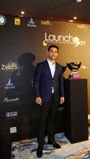 Italian Fabio Fognini dressed in Faconnable at the Zelo's launch party @Gianni 1