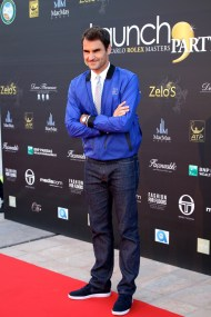 Roger Federer Launch party at Zelo's MCRM 2016@CelinaLafuenteDeLavotha