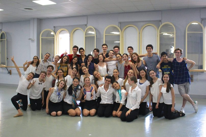 All the students after the Grand Finale @CelinaLafuenteDeLavotha