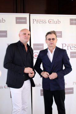 Jean-Christophe Maillot and Mikhail Baryshnikov June 28, 2016 @CelinaLafuenteDeLavotha