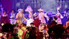 Opera singer Delia Grace Noble founder of the Grand Masked Ball of Venice in Monte-Carlo with Casanova @Iulian Giurca