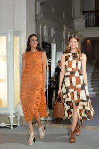 Akris printed dresses with Piaget Jewellerycopyright ©cotemagazine.com
