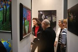 HSH Princess Stephanie with Kamil and Caroline Jelmoni @Federic Nebinger