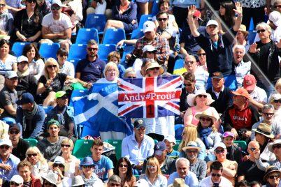 Andy Murray fans MCRM17 @CelinaLafuentedeLavotha