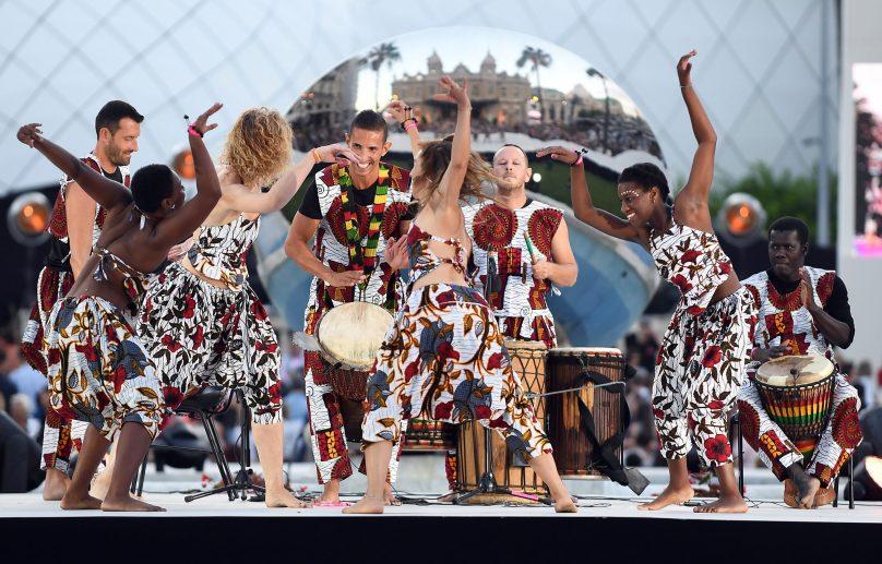 African dance ©Charly Gallo - Manuel Vitali : Direction de la Communication