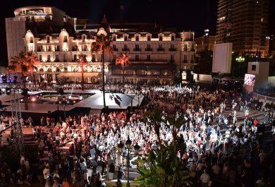 The Casino Square in the evening©Charly Gallo - Manuel Vitali : Direction de la Communication CHG_1108