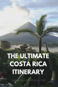 The UltimateCosta RicaiTINERARY