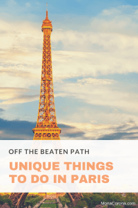 off the beaten path paris