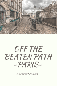 paris off the beaten path