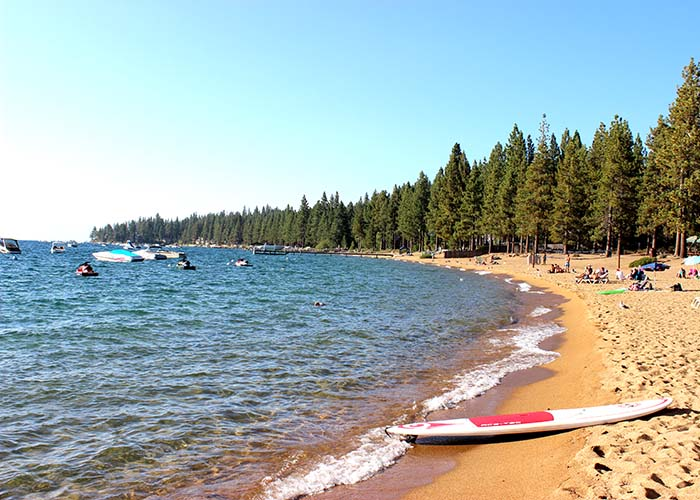 best beaches in south Lake Tahoe