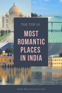 top 10 most romantic places in india