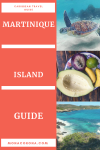 Click here for a complete Martinique Travel Guide. Read about what to do in Martinique, the best beaches on Martinique, Martinique Snorkeling, and Martinique Hiking. This guide will also tell you the best place to stay on Martinique, as well as where to eat on Martinique Caribbean Island. | MonaCorona.com | #Martinique #Caribbean #travel #hotels #hiking #waterfalls #islands #beach #travelguide #traveltips #travelinspo #fortdefrance #bucketlists #caribbeanisland #cruiseport #honeymoon #snorkeling