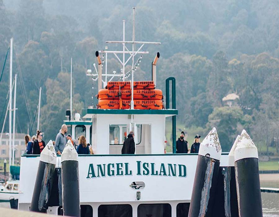 tiburon to angel island ferry