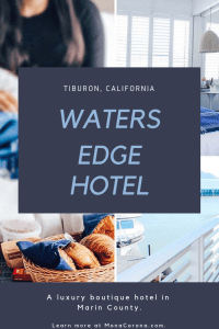 Click here to read a full review of Waters Edge Hotel in Tiburon, California. In this travel guide you will also find the best Tiburon restaurants, and the top things to do in Tiburon: the most charming town of Marin County, in the Bay Area of Northern California.   MonaCorona.com   #tiburon #marincounty #sanfrancisco #angelisland #goldengatebridge #travel #thingstodo #traveltips #itinerary #california #bayarea #belvedere #usa #northamerica #northerncalifornia #norcal #travelguide #sponsored