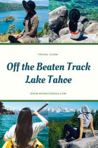 Looking for unique things to do in Lake Tahoe and the surrounding areas? Click to read this Lake Tahoe travel guide! This guide will show you what to see in Lake Tahoe as well as where to stay in Lake Tahoe, and where to eat in Lake Tahoe! | #monacorona #laketahoe #california #nevada #reno #carsonvalley #travel #itinerary #hotels #restaurants #thingstodoin