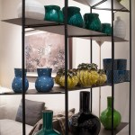 Deco & Beyond furniture store in Monaco - shelves and vases