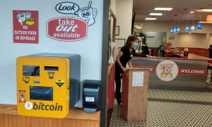 New Bitcoin Vending Machine at Red Arrow Diner in Nashua