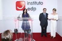 MC Mona Dorf no Instituto EDP