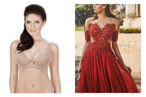 robe de soirée. Quel sous vêtement mettre en dessous d'une robe de soirée ou de mariée ?