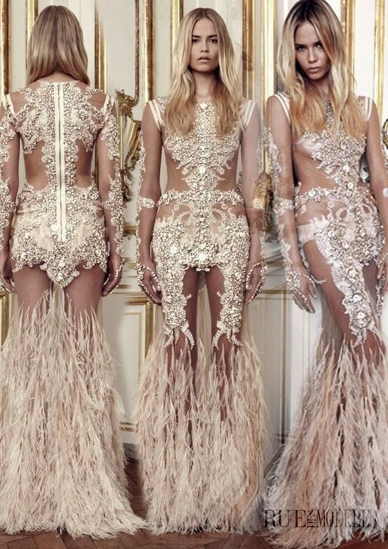 Magnifique robe de soirée Dubai et libanaise. Robe de soirée, gala, mariage pas cher de qualité sur Paris, lille, marseille, lyon. Robe transparante blanche, beige, marron.