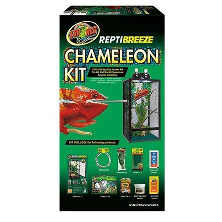Zoomed Reptibreeze Chameleon Kit Terrario Camaleón Kit