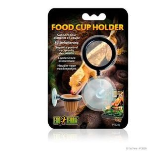 exo terra food cup holder soporte para papilla