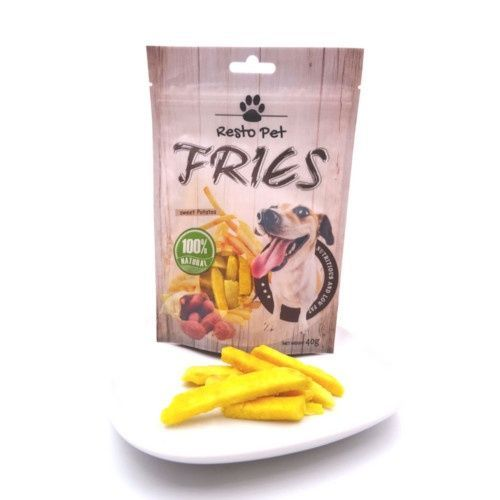 Fries Sweet Potato 40gr - Patatas Fritas para Perros Resto-Pet