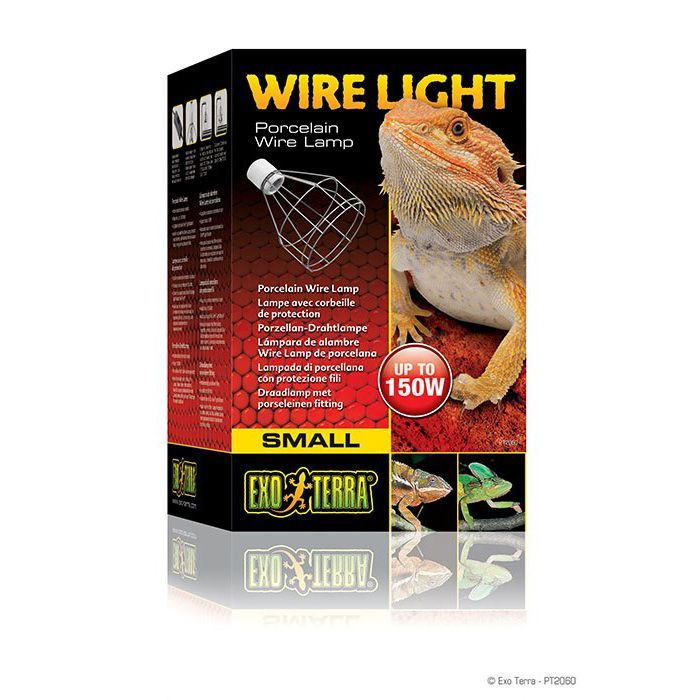 Exo Terra Wire Light Peq. Porta Lamparas Terrario PT2060