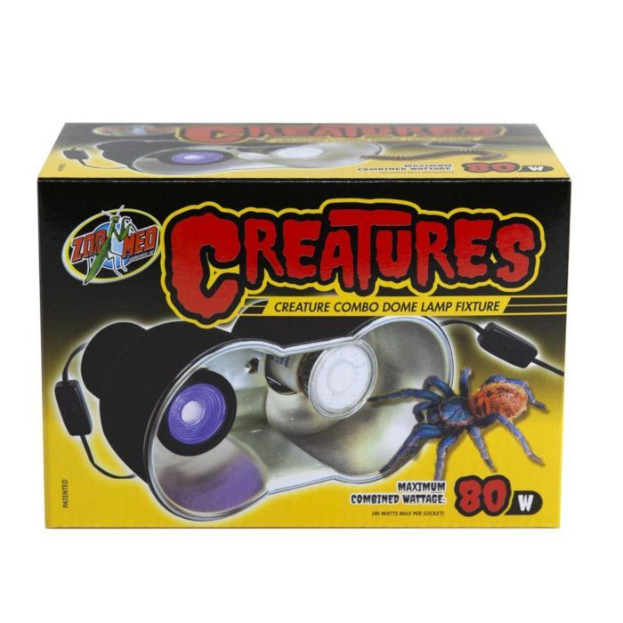 ZooMed Creatures Combo Dome 80w