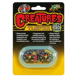 zoomed creatures dual thermometer & humidity