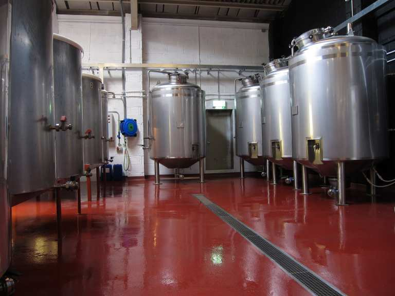 Brewery Flooring - Monarch - UK resin flooring