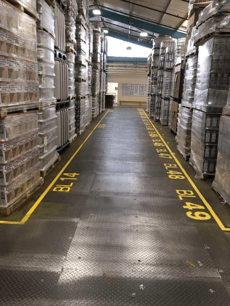 Monarcoat 700 - factory flooring - Monarch Flooring - UK Resin