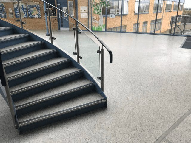 Monarflake - Flake Finish - resin flooring UK - Monarch Flooring