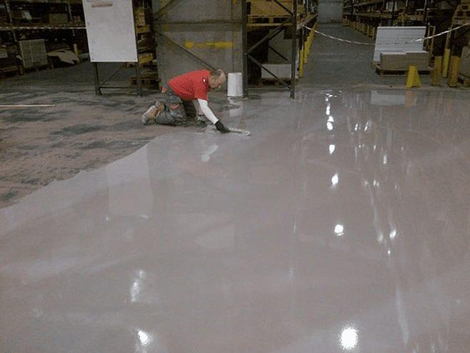 Monarflow PU - factory flooring - Monarch Flooring - UK Resin