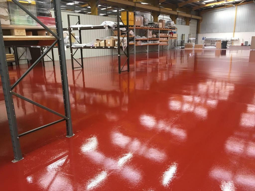 Monarch - Factory Flooring - Resin flooring UK