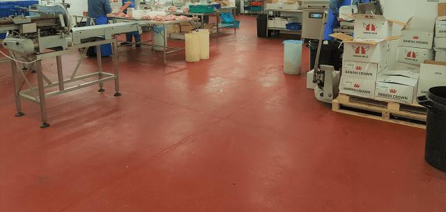 Hygienic resin flooring - food grade
