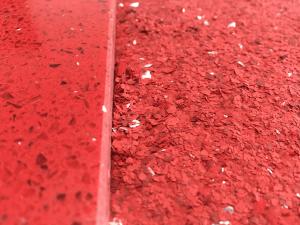 Flake Finish - Monarch resin flooring