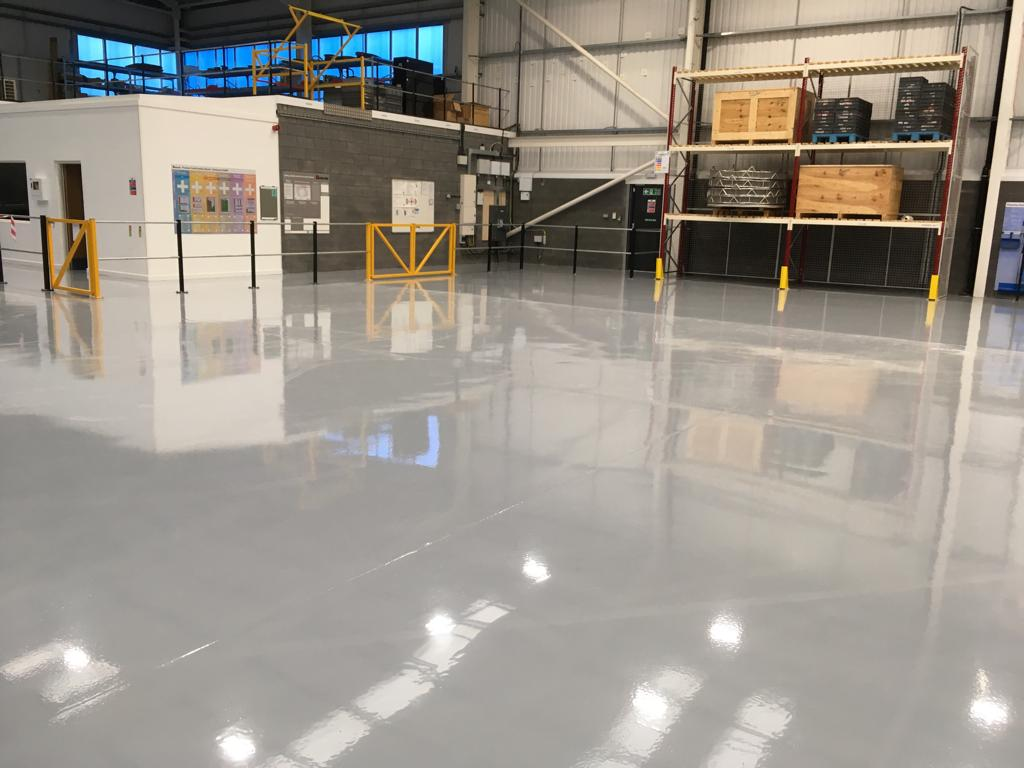 Monarflow industrial flooring